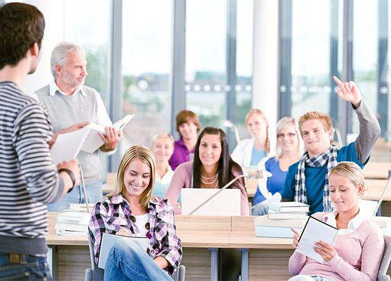 Zajęcia w grupie - szkoła języków obcych Convers