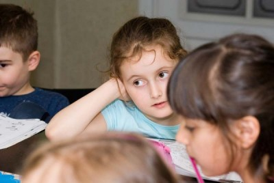Uczniowie z grup przedszkolnych - centrum języków obcych Convers