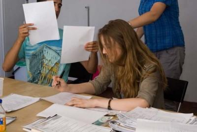 Uczniowie grup dla dzieci i młodzieży - centrum języków obcych Convers