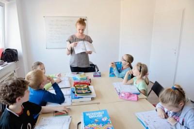 Lekcja angielskiego w centrum języków obcych Convers