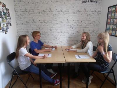 Zajęcia grupowe - centrum języków obcych Convers